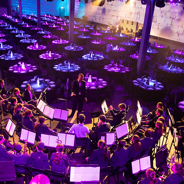 The Venue Alexandria transformed for a charity gala dinner and fundraiser.